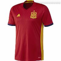 Camiseta Selección Española 1ª Eurocopa 2016 FEF H JSY AI4411